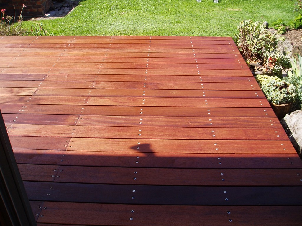 Hardwood decking timber sydney