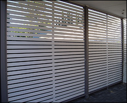 Treated Pine Privacy Screens
