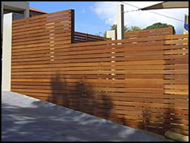 Hardwood Privacy Screens