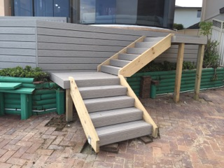 Composite Decking Steps The Shire